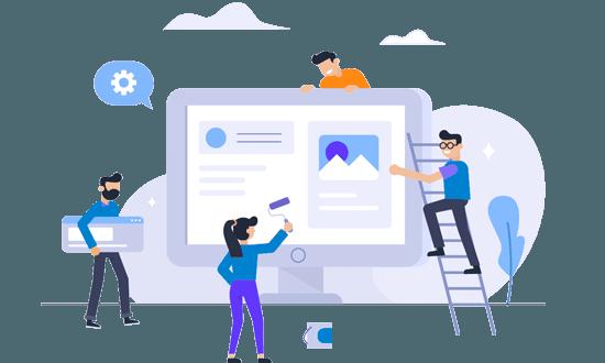 creare pagina web profesionala